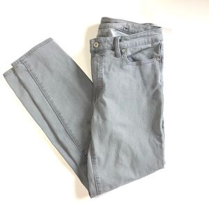 Talbots Flawless Slim Ankle Jeans Gray